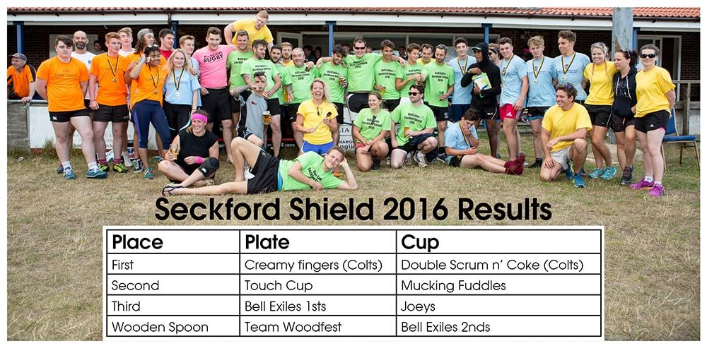 Seckford Shield 2016