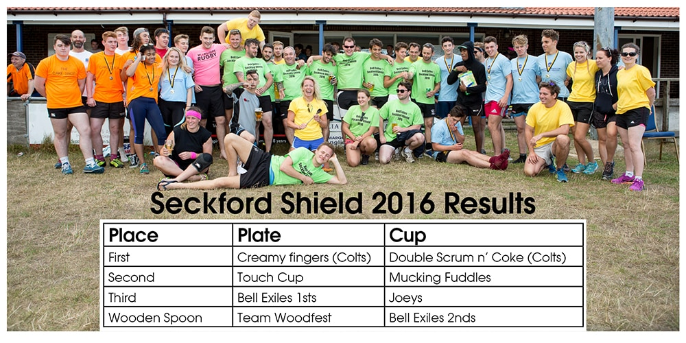 Seckford Shield 2016