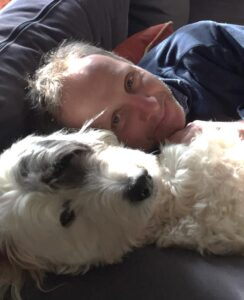 Duncan and dog
