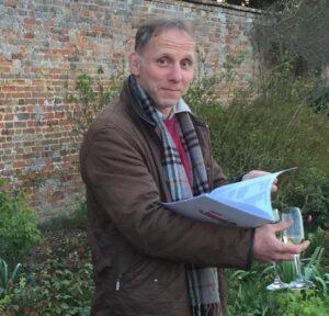 Duncan in garden