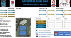 Woodbridge Touch Rugby