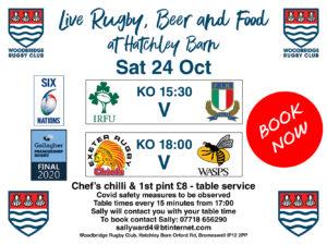 Woodbridge Rugby Club Lunch