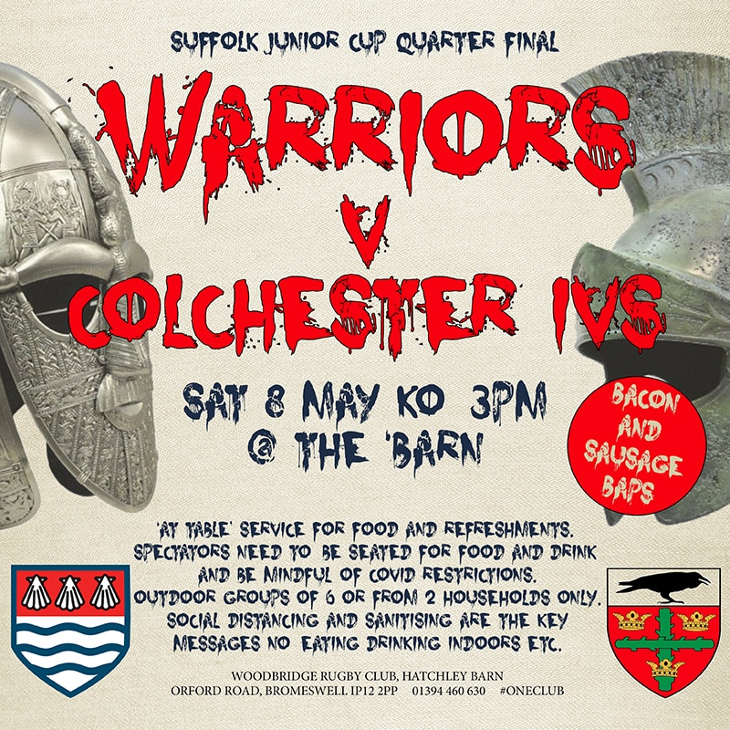 Warriors v Colchester !V