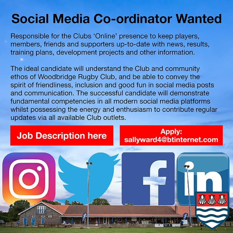 Social Media Coordinator Ad