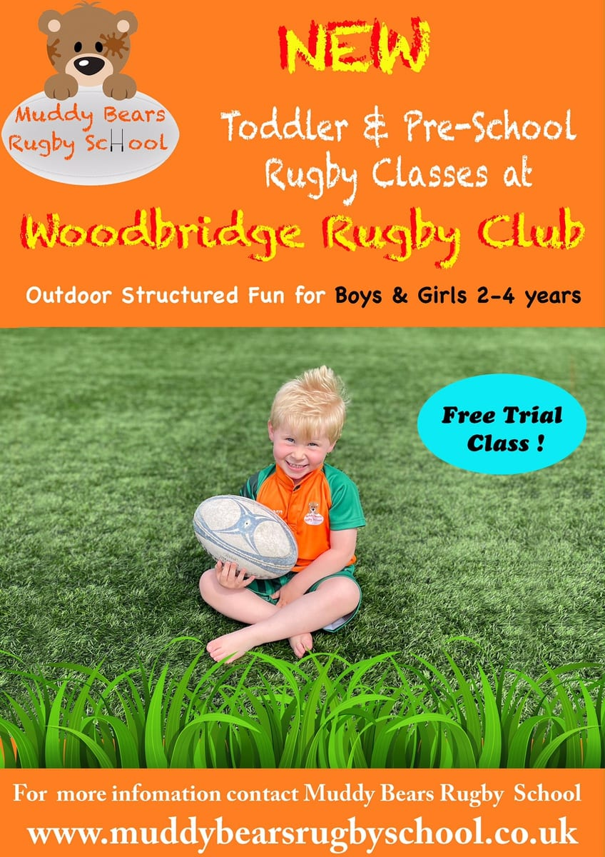 Muddy Bears Toddler & Pre-School Rugby Classes