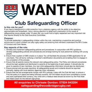Club Safeguarding Officer